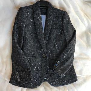 Shimmery wool tweed blazer from J. Crew